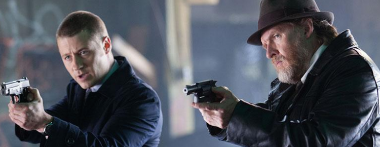 Gotham - Detectives Jim Gordon and Harvey Bullock
