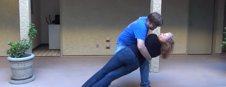 How to do the Window Shade swing dance trick