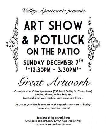 Art Show Flyer