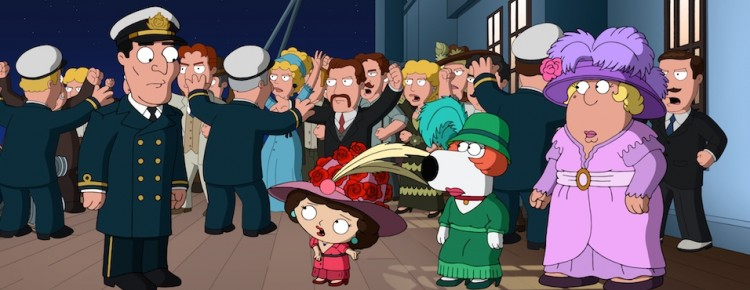 Family Guy Titanic Spoofs