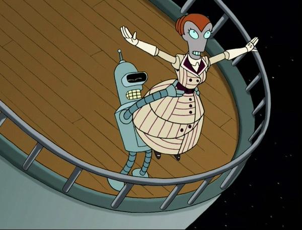 Futurama - Titanic Spoofs