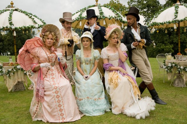 Austenland with Cellphones