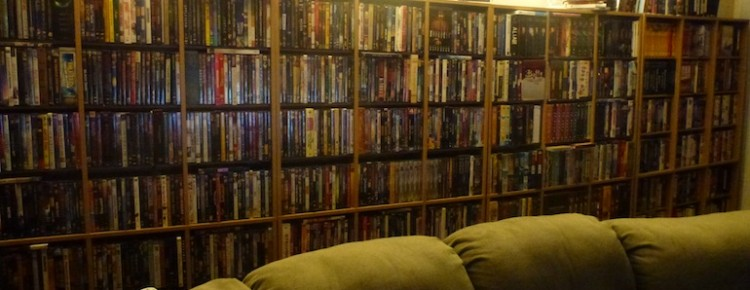 My ridiculous DVD collection