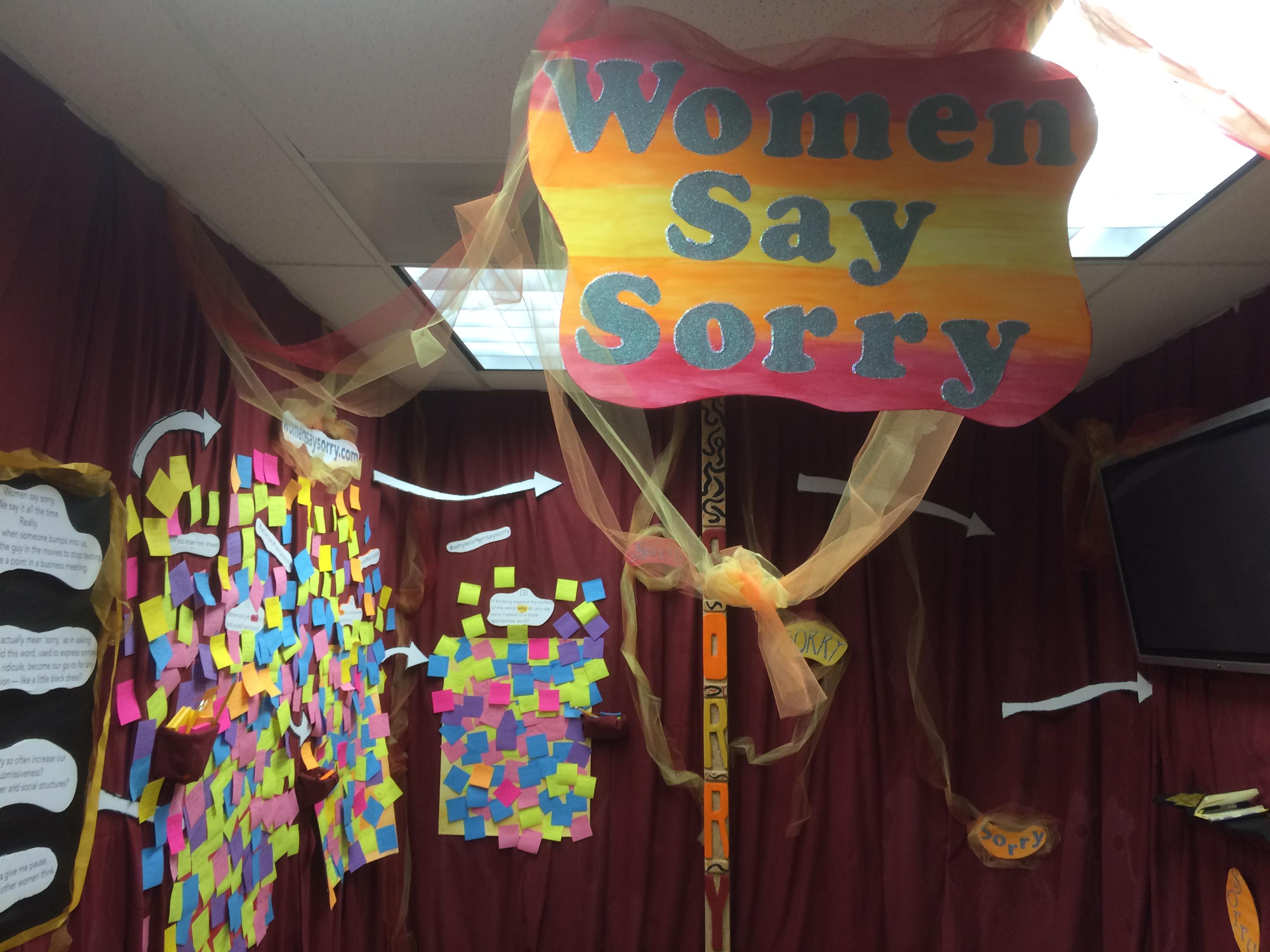 Artomatic: Women Say Sorry